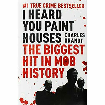 I Heard You Paint Houses: Now Filmed As The Irishman Directed By Martin Scorse, • 6.75£