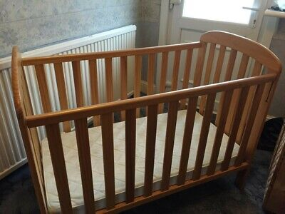 £50 • Buy Natural Wooden Dropside Cot Mattress Not Included. Great Condition