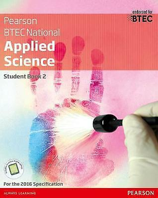 £30.20 • Buy Btec Level 3 Nationals Applied Science S, Like New Used, Free P&P In The UK