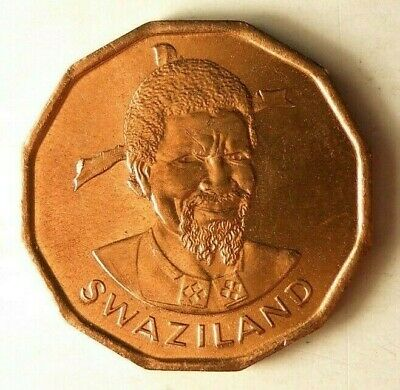 $4.99 • Buy 1975 SWAZILAND CENT - High Quality - Exotic Uncommon Coin - BIN #AAA