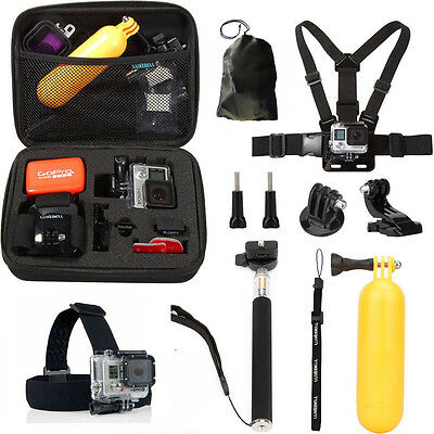 $ CDN23.97 • Buy For GoPro Hero 6/5/4/3 10 In 1 Accessories Sports Camera Accessories Kit