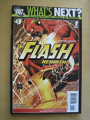 £2.99 • Buy WHAT'S NEXT? Special Edition DC PREVIEW Series FLASH REBIRTH 1 By JOHNS & SCIVER