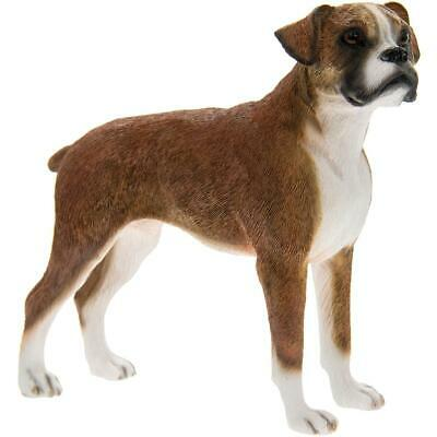 Boxer Dog Figurine Ornament Gift Boxed By The Leonardo Collection • 12.99£
