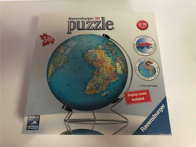 $39.95 • Buy Ravensburger 3D Puzzle THE EARTH 540 Pieces World Globe With Stand NEW Sealed