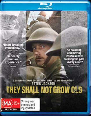 $24.82 • Buy They Shall Not Grow Old - Blu Ray Region B Free Shipping!