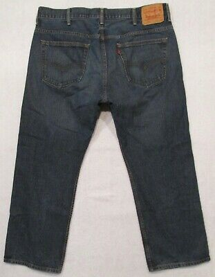 4a432e5f005 Mens Levis 569 Loose Straight Jeans Size 38 X 30 • 14.99$