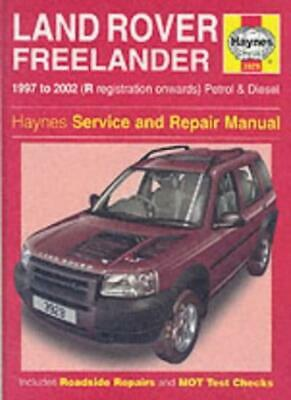 Land Rover Freelander Service And Repair Manual (Haynes Service And Repair Man, • 6.33£