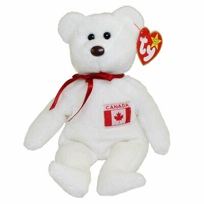 I Love Toronto - Canada Excl TY Beanie Baby TORONTO the Bear MWMT 8.5 inch