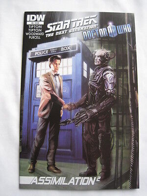 STAR TREK NEXT GENERATION / DOCTOR WHO : ASSIMILATION Issue 6. IDW. 2012 • 3.29£