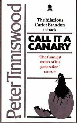 £2.13 • Buy Call It A Canary,Peter Tinniswood