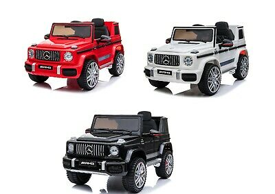New 12v Kids Electric Official Mercedes Amg G63 Ride On Car Suv Parental Remote • 159.99£