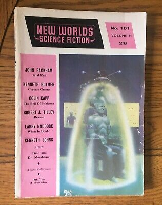 New Worlds Science Fiction No. 101, December 1960 Published By Nova Publications • 7.50£