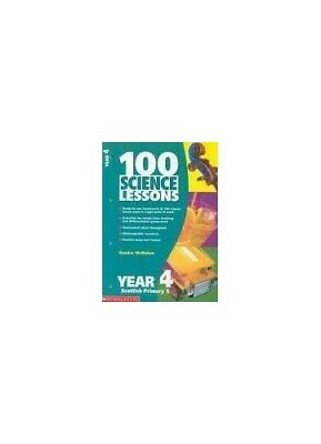 100 Science Lessons For Year 4 (100 Science Less... By McMahon, Kendra Paperback • 7.87£