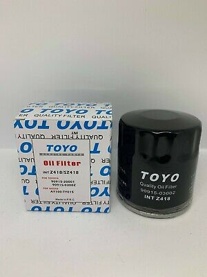 AU29.95 • Buy 6 X TOYO Oil Filter Z418 Suits TOYOTA Avalon Camry Hiace Hilux Landcruiser