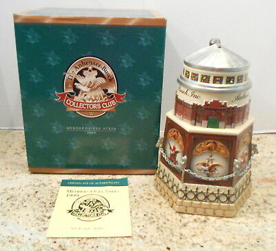 $ CDN79.94 • Buy Budweiser Cb11  Clydesdale Stable  Lidded Membership Stein 1999 By Ceramarte