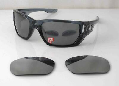 AU249.99 • Buy Oakley Polarized Sunglasses Style Switch Crystal Black Frame 2 Sets Lenses