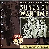 £1.92 • Buy Various Artists : Songs Of Wartime:Wartime Favourites Vol. CD Quality Guaranteed
