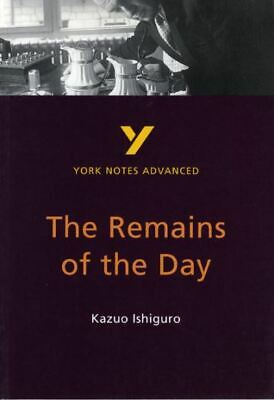 York Notes Advanced: The Remains Of The Day, Kazuo Ishiguro By A Other • 2.40£