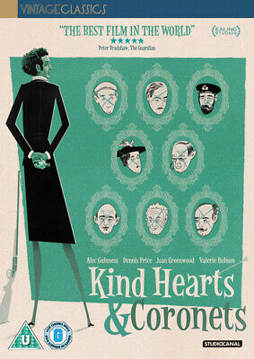 Kind Hearts And Coronets DVD (2019) Dennis Price, Hamer (DIR) Cert U ***NEW*** • 10.47£