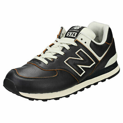 new balance 574 cuero marron