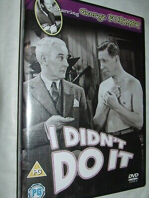 £2 • Buy  I Didn't Do It DVD George Formby