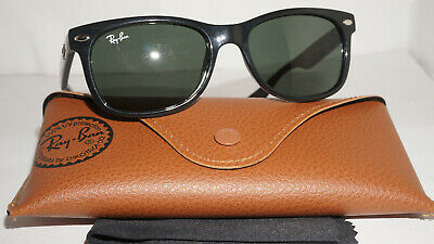 041157049 RAY BAN JR JUNIOR Sunglasses Black Green Classic RJ9052S 100/71 47 15 125 •