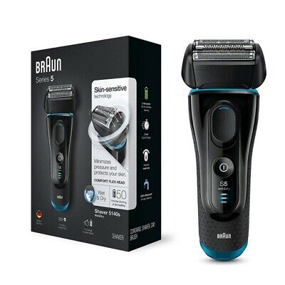 View Details Braun Series 5 5140s Men's Electric Foil Rechargeable Shaver And Cordless Razor • 100.35£