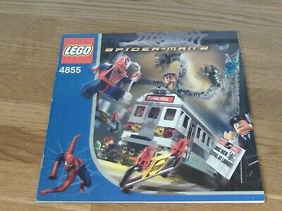 £10 • Buy Lego Spider-Man 2 4855 - Train Rescue - Instructions Only (no Lego)