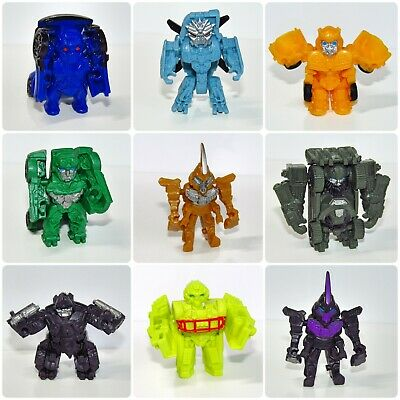 Transformers ~ Tiny Turbo Changers ~ Mini Figures ~ Autobots & Decepticons • 4.95£