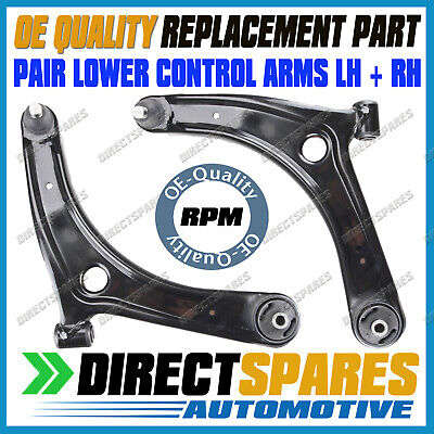 AU199.95 • Buy PAIR Mitsubishi Outlander ZG ZH 10/06-2012 Front Lower Control Arms Bushes LH+RH