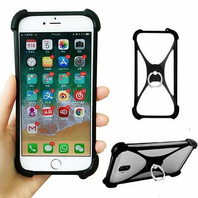 AU10.98 • Buy Shockproof Soft Silicone Case Cover Pouch Bumper Shell Ring Holder For Phones