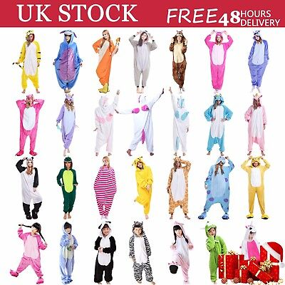 Ladies Mens Unicorn Pyjamas Unisex Animal Xmas Onesie17 Cosplay Costume Pajamas • 15.49£