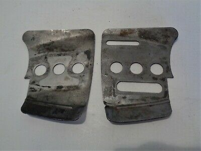 homelite super xl automatic old blue chainsaw: inner & outer guide bar  plates • 9 99