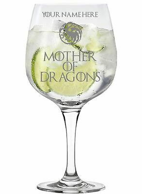 £11.99 • Buy Personalised Mother Of Dragons Game Of Thrones Inspired Copa Gin Glass
