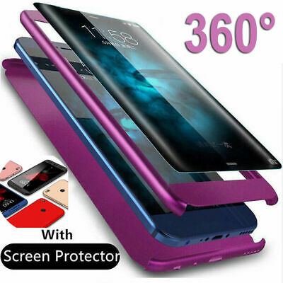 AU4.35 • Buy For Samsung Galaxy Note S8 S9 Plus S7 Edge 360° Full Cover Case Screen Protector