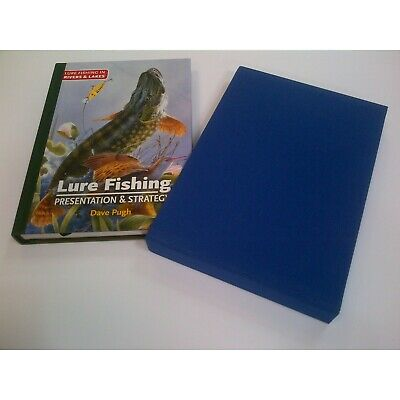 £147.45 • Buy PUGH DAVE ANGLING BOOK LURE FISHING PRESENTATION STRATEGY De Luxe Limited SIGNED