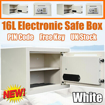 £39.50 • Buy 16L Electronic Password Security Safe Money Cash Deposit Box Office Home Safety