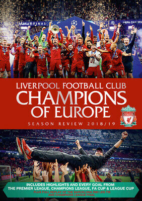 £12.28 • Buy Liverpool FC: End Of Season Review 2018/2019 DVD (2019) Liverpool FC Cert E 2