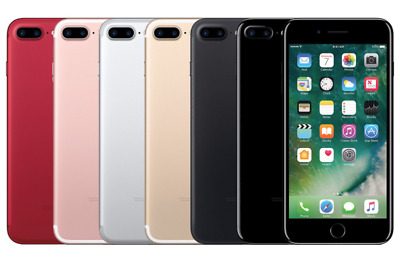 Apple IPhone 7 Plus 32GB 128GB 256GB Jet Black Silver Rose Gold Unlocked • 209.99£