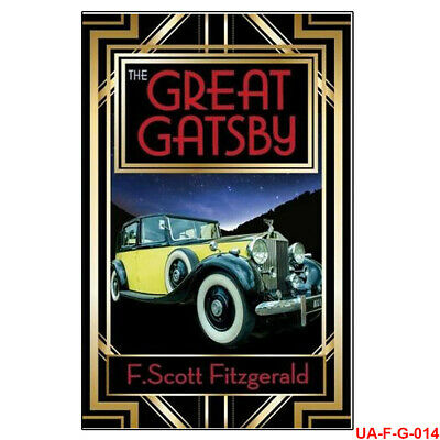 The Great Gatsby By F. Scott Fitzgerald, Literary Fiction Paperback NEW • 3.34£