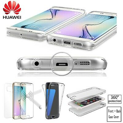 Shockproof 360 Clear Gel Case Cover For Huawei P20 P30 P40 Pro Lite Mate 20 Pro  • 2.89£