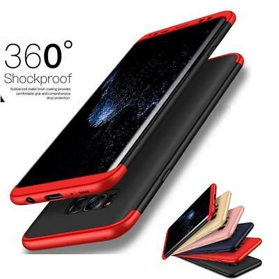 $ CDN6.23 • Buy Shockproof 360° Hard Case Protective Cover For Samsung Galaxy S7 Edge S8 S9 Plus