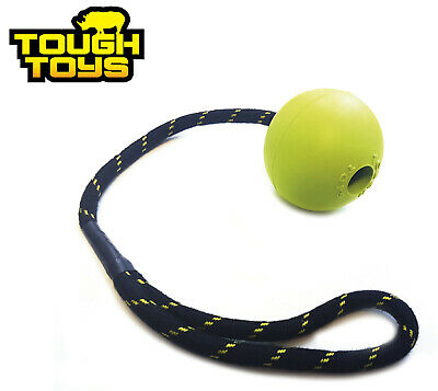 Happypet Floating Rubber 2.5  Ball On Rope Dog Puppy Tug Toy Tough Ball Tt0211 • 7.99£