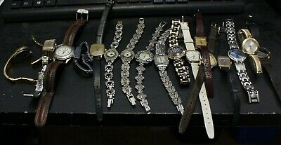 $ CDN89.95 • Buy Lot Of 17  Lady Watch For Parts Or Repair