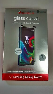 $ CDN10.83 • Buy ZAGG InvisibleShield Glass Curve Screen Protector For Samsung Galaxy Note9