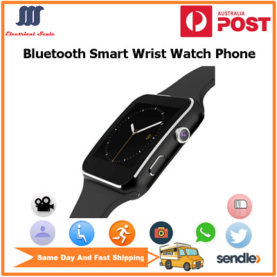 AU23.50 • Buy Bluetooth Smart Wrist Watch Phone With Touchscreen