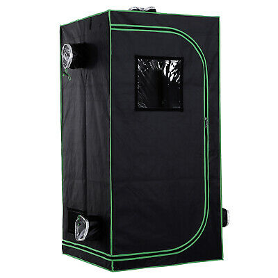 £42.99 • Buy Outsunny80*80*160cm Indoor Plant Grow Tent Green Room Hydroponic Canopy Mylar