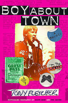 Boy About Town: A Memoir By Fletcher, Tony, Paperback Book, New, FREE & Fast Del • 3.57£