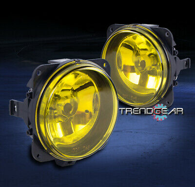 $49.95 • Buy 2000-2005 Ford Focus Svt/2003-2007 Mustang Cobra/escape Bumper Yellow Fog Lights