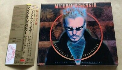 Michael Schenker - Adventures Of The Imagination Japanese Promo Cd & Obi  • 12.99£